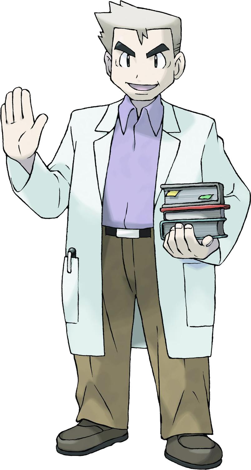 Professeur Chen - Wiki Pokémon