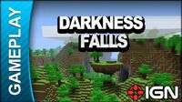 Minecraft - Darkness Falls - Gameplay