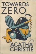 Towards Zero First Edition Cover 1944