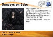 WPVI-TV's Once Upon A Time Video Promo For Sunday Night, October 30, 2011