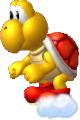 Giant Red Koopa NSMBU Sprite