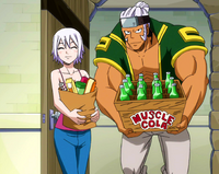 Elfman and Lisanna With Snacks