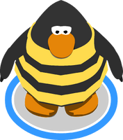Bee Costume ingame