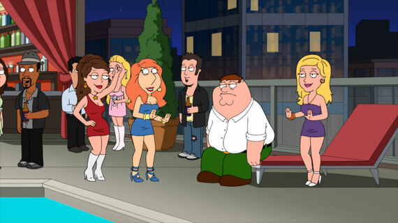 Family Guy Season 11 Episode 6 Lois Comes Out of Her Shell