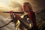 Jaime Lannister by Michael Komarck, Fantasy Flight Games© (2)