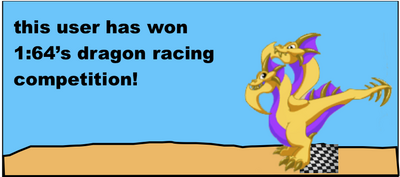 Dragonvale racing badge