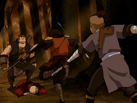 Sokka stops Jet