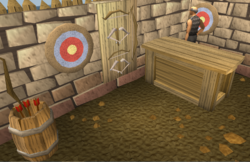 Void Knight Archery Store interior