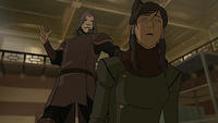 Amon taking Korra&#39;s bending