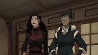 Asami and Korra