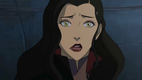 Asami shocked