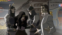 Tarrlok arresting Asami