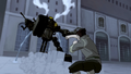 Bolin attacking a mecha tank.png