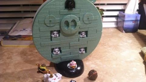 Angry Birds Star Wars Jenga Death Star Game Review