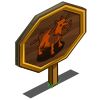 Fall Cow Mastery Sign-icon