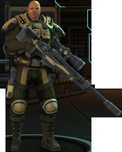 XCOM sniper (not Dmitrri)