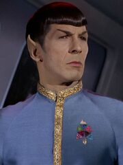 Spock galauniform