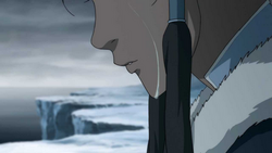 Korra cries