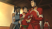 Korra meeting Mako