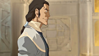 Tarrlok smirking