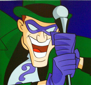 Riddler DC Animated