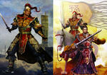 Dynasty Warriors 4 Artwork - Sun Jian