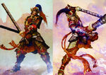 Dynasty Warriors 4 Artwork - Taishi Ci