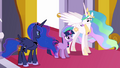 Celestia convinces Twilight that she will not fail S3E01.png