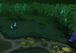 Lumbridge Swamp Caves tunnel