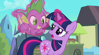 Twilight &#39;Not a claw Spike&#39; S3E2