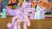 Crystal Cadance and Spike S3E2