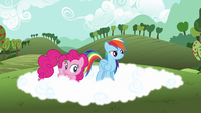 Rainbow Dash &#39;So it floats back up&#39; S3E3