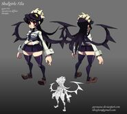 Skullgirls filia by pyroxene-d3l4ml5