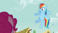Rainbow &#39;Or I could take everypony on a cloud ride&#39; S3E3