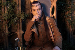 Elrond in Rivendell - The Hobbit
