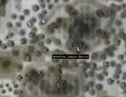 Jolgeirr Barrow Map