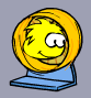 Yellow Puffle Running Wheel