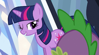 Twilight happy wink S3E2