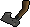 Off-hand iron throwing axe