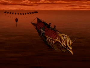 Ozai&#39;s airship