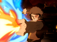 Zuko&#39;s enhanced firebending