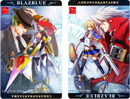 BlazBlue Chrono Phantasma (NESiCA Promotional Artwork)