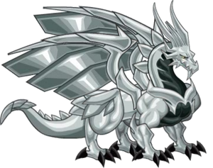 Metal Dragon Dragon City