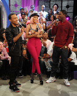 Nicki Minaj Celebs BET 106 Park 3NFmc9bWVDBl
