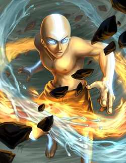 Avatar Aang art