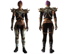 Metal master armor female