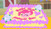 Pinkie Pie's birthday cake S01E25