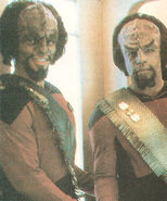 Al Simon and Michael Dorn