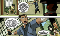 Sokka interrupting duel