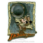 Indiana jones mickey pin